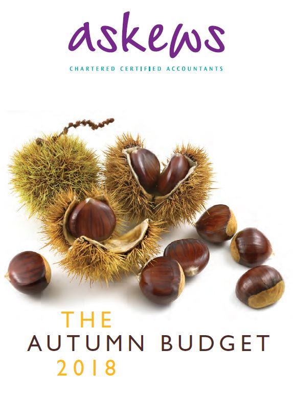 Autumn Budget 2018